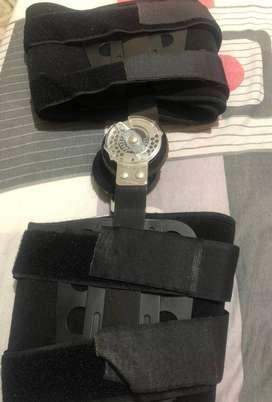 Brace de rodilla con topes pos operatorio corto 50Cm