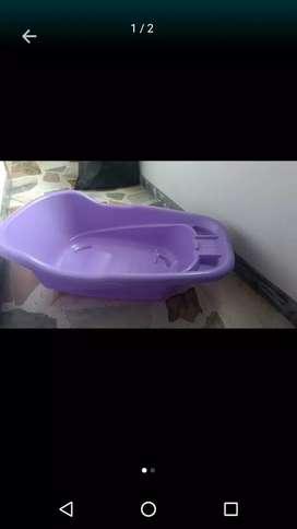 Tina bañera para niña