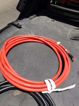 Cables  nuevos de 3 metros cuatro pares de 1x35mm 1700 el par