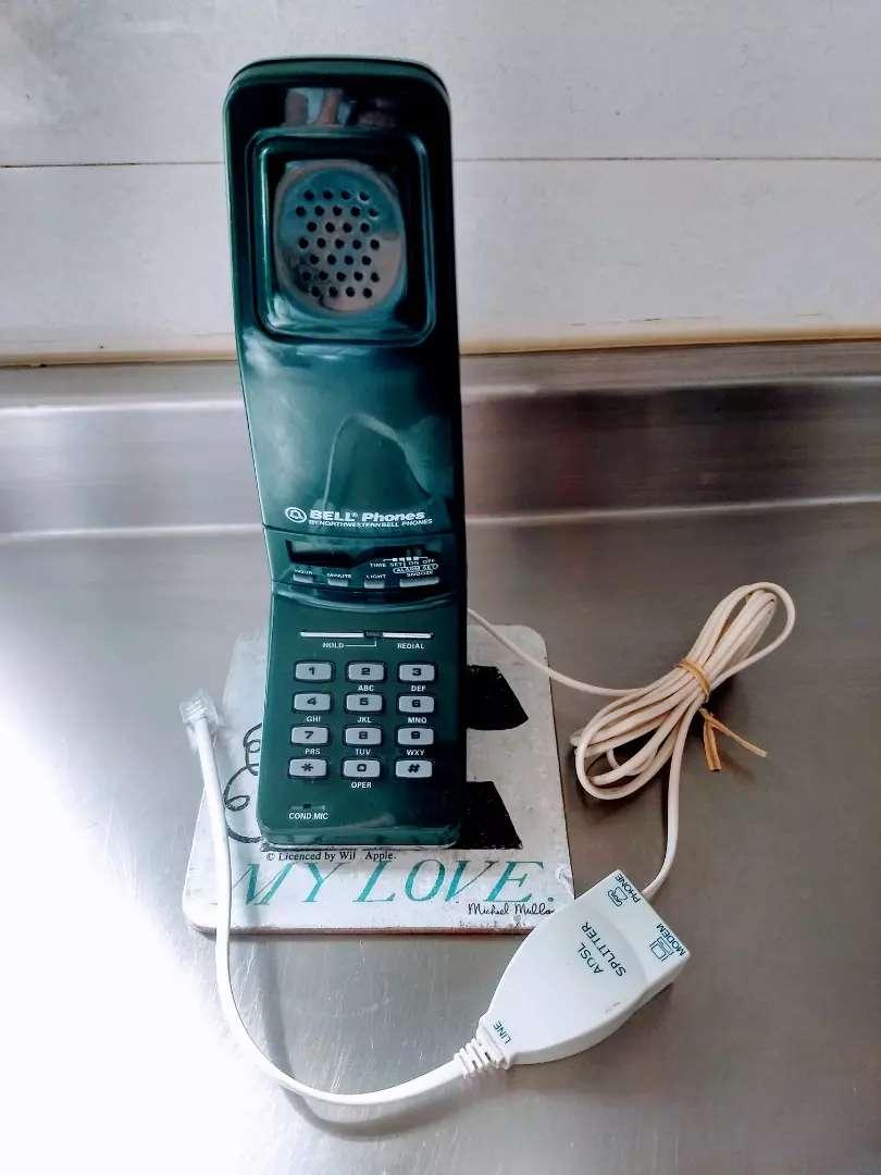 Vintage Bell Glp Great Little Phone Teléfono Antiguo de Base 0