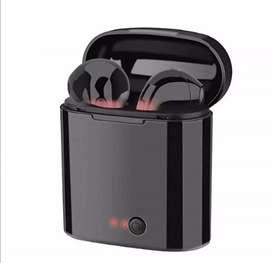 Audífonos Auriculares bluetooth Regalo moderno navidad unisex I7