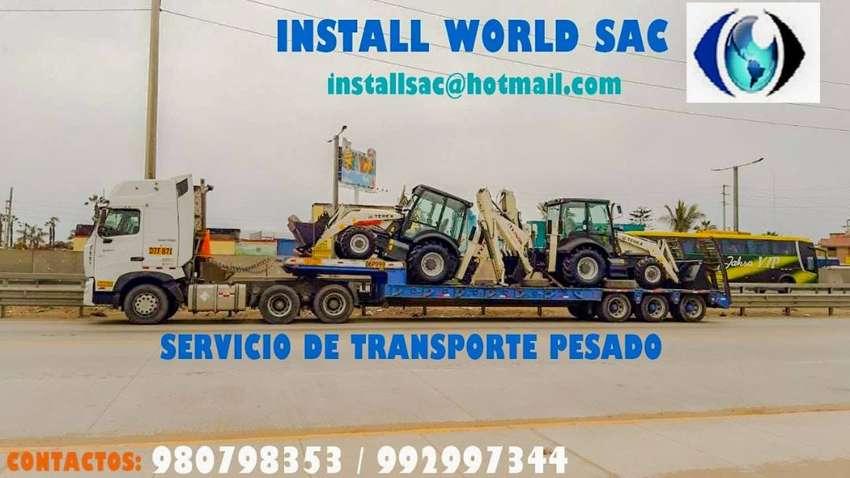 transporte  de carga pesado con semitrailer , tracto , con plataforma 13m  ,  cisterna , baranda , camabaja  y forgon 0