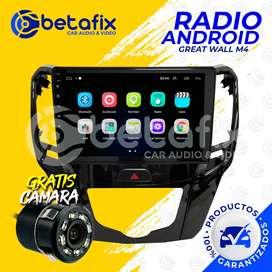 RADIO ANDROID PARA GREAT WALL M4 GPS BT USB WIFI BETAFIX DESDE