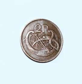 Moneda de Irlanda, 2 pence, 1988, XF