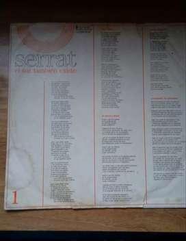 Vinilo Serrat - El sur también existe