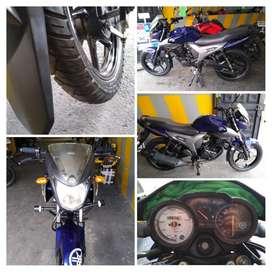 Yamaha SZR 150 modelo 2016, 34330 KM, único dueño, soat y tecnomecanica hasta agosto 2021, nunca aporreada ni estrellada