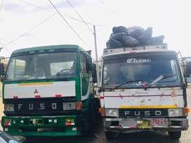 vendo 2 camiones Mitsubishi fuso por ocasión