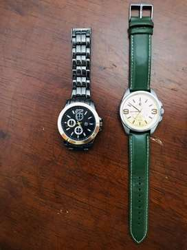 Relojes Esika y Stainless Steel