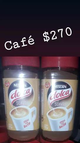 Cafe  dolca chico y grande