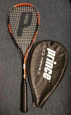 Raqueta de Squash SemiNuevo, solo 2 usos marca Prince Force 3. Precio Negociable