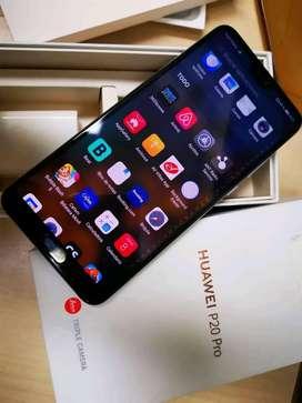 Huawei P20 pro Como nuevo libre de todo con caja forro cargador, VENDO O CAMBIO.