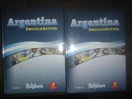 Libros  argentina EncicloActiva 10 unidades