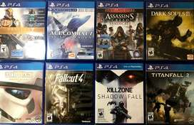8 juegos PS4