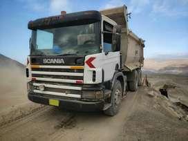 Venta de Volquete Scania 420p
