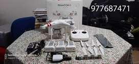 Drone Phantom 3 STANDARD con extras.