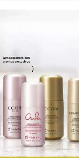 Desodorante con aroma exclusivo