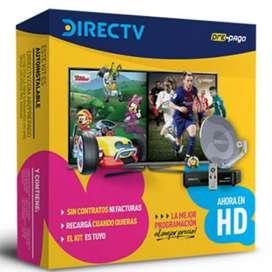 Venta e Instalación de DirecTV PrePago HD