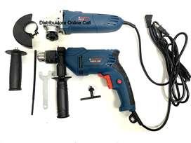 Combo Taladro Percutor Bosch 750w Y Pulidora Bosch 1200w PROMOCION