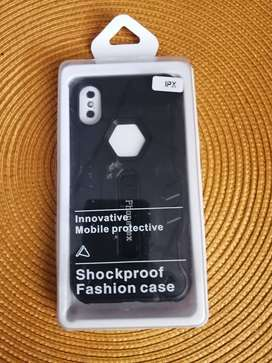Funda para iPhone X, para iPhone Xs Antichoque con vidrio templado incluido