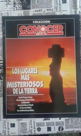 Revista Conocer Y Saber Colección Año 1991 Los Lugares Mas Misteriosos De La Tierra