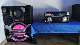 VENCAMBIO equipo de sonido