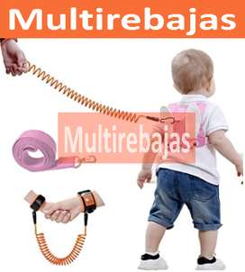 Para Niños Mochila Con Correa De Arnés Antipérdida