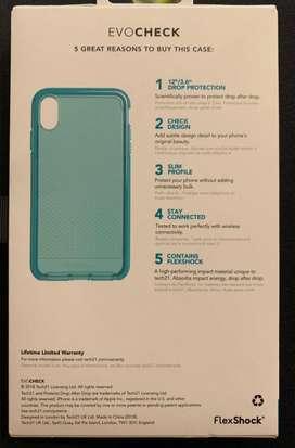 Evocheck tech 21 iphone xs max protector original caidas hasta 3.6 mt