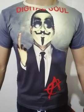 Camiseta sublimado