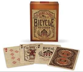 Cartas Bicycle Bourbon 808 Baraja Whisky Original Vintange