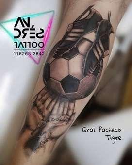 Tatuajes Estudio Andrés Tattoo, El Talar De Pacheco en Tigre