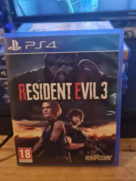Resident Evil 3 impecable