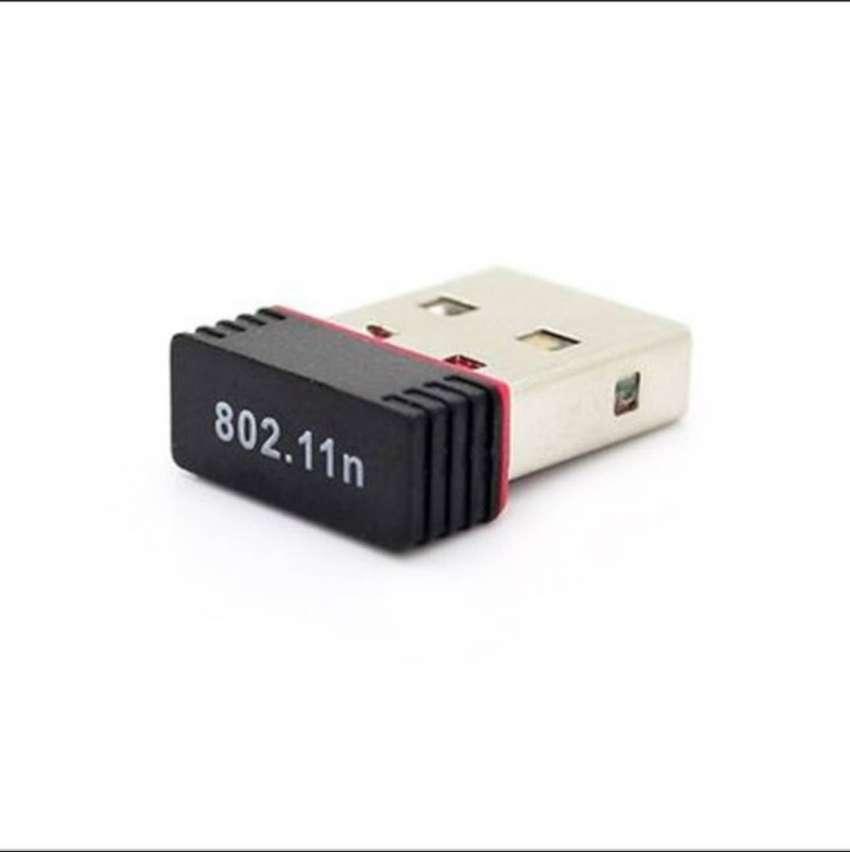 Mini Adaptador Wifi Usb Antena 300mbps 20dbm Chipset 8188 0