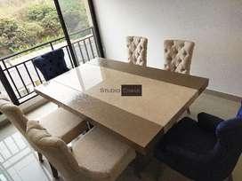 Mesa de Comedor  Marmol O Granito Exótic