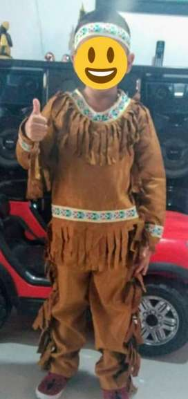 Se vende traje de Indio