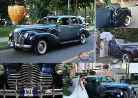 Buick limousine límited 1940 motor 8 en linia 4.1 litros 16 válvulas tres velocidades clásico homologado por la car club