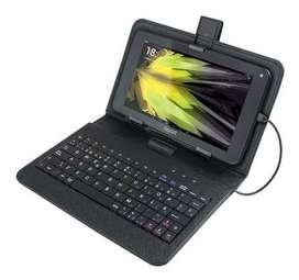 """Funda para tablet con teclado (7"""")"""