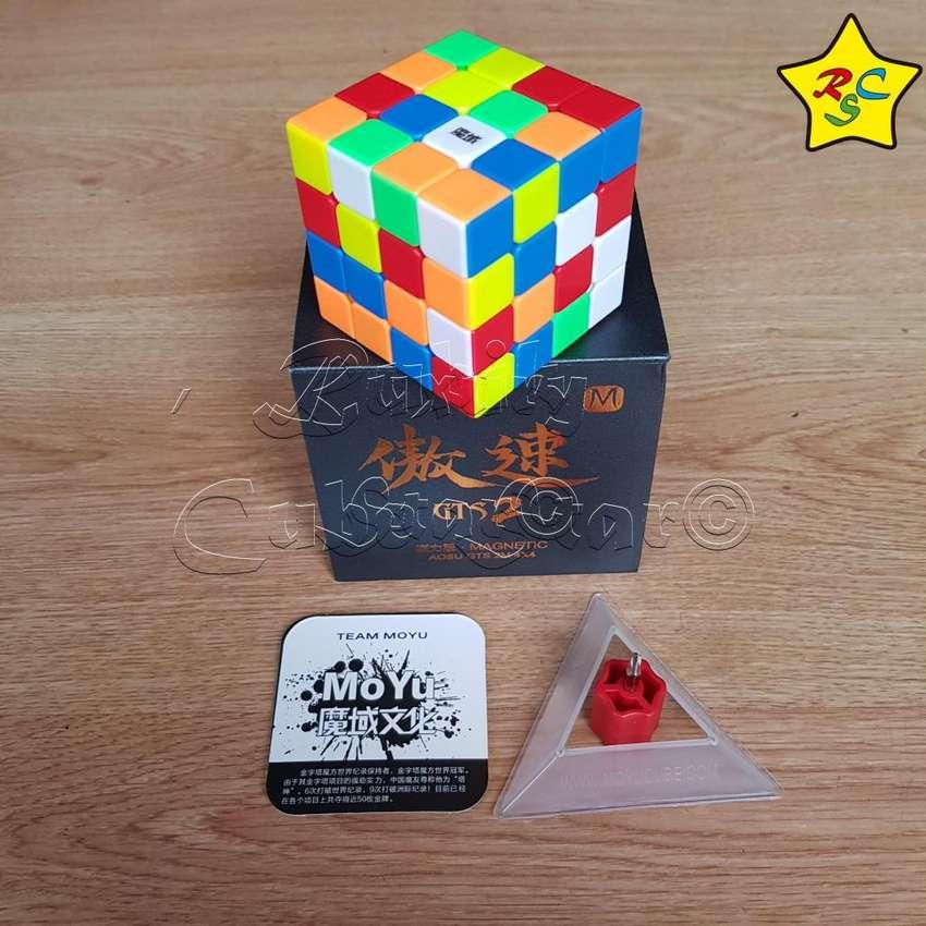 Cubo De Rubik 4x4 Moyu Aosu Gts V2 Magnetico Speedcube 0
