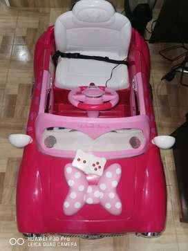 Carro a control remoto para niña mini Mause