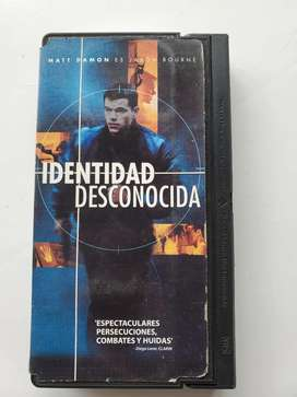 Vhs identidad desconocida Matt Damon es Jason bourne