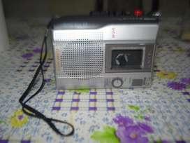 Grabador De Periodista Sony Tcm 200dv Profesional C/casette.