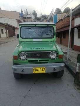 venta de  montero Mitsubishi mod 1982.