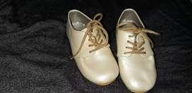 Zapatos bautizo o reunión formal talla 20/21