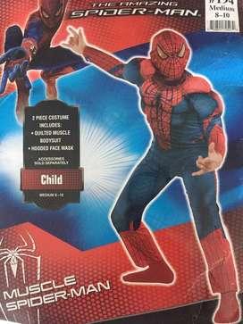 Disfraz Spider-Man Muscle T .M 8-10
