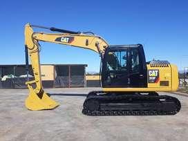 CAT 313F 2016  excavadora oruga