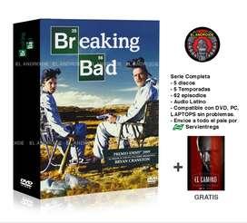 Breaking Bad Serie Completa + El Camino