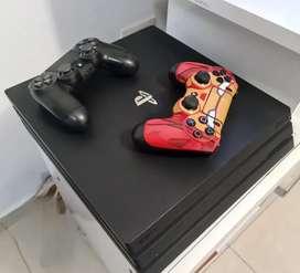 Vendo Playstation 4 Pro 1TB + 2 joysticks + 2 juegos + Camara Ver. 2