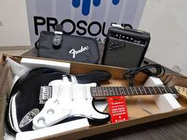 Kit Guitarra Stratocaster Fender Squier Acesorios Combo Pack