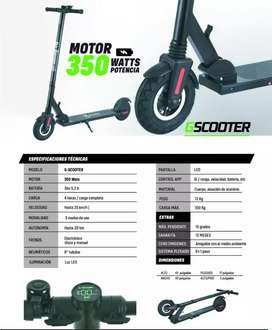 Scooter Electrico G Scooter 350W