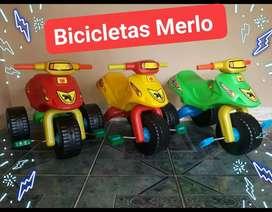 Triciclos de PVC