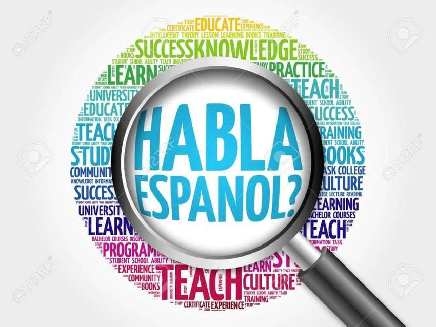 Español, clases para todos. Comienza ahora mismo!